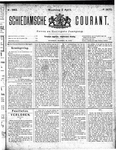 Schiedamsche Courant 1883-04-02
