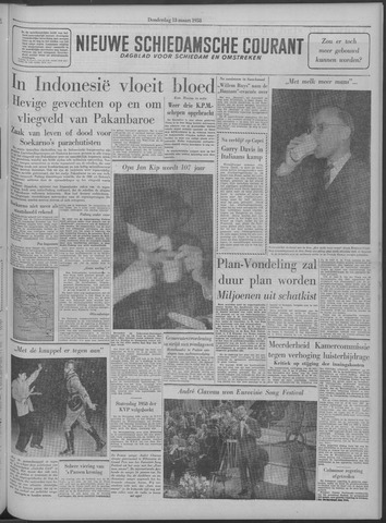 Nieuwe Schiedamsche Courant 1958-03-13