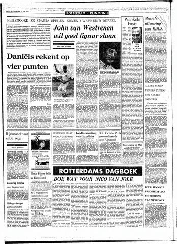 Rotterdamsch Parool / De Schiedammer 1970-06-11