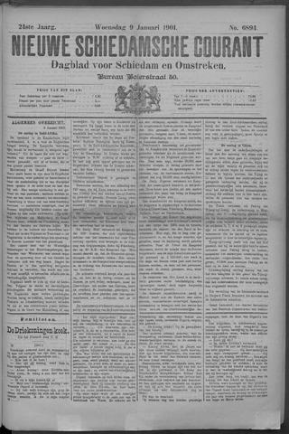 Nieuwe Schiedamsche Courant 1901-01-09