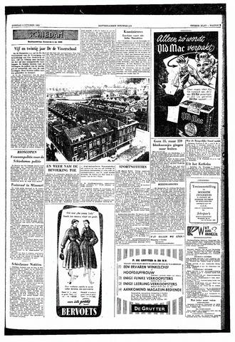 Rotterdamsch Nieuwsblad / Schiedamsche Courant / Rotterdams Dagblad / Waterweg / Algemeen Dagblad 1953-10-06