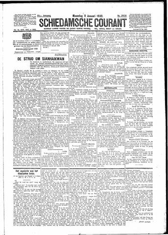 Schiedamsche Courant 1933-01-09