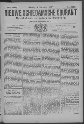 Nieuwe Schiedamsche Courant 1897-11-16
