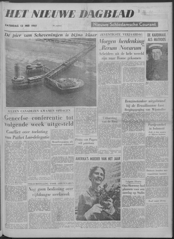 Nieuwe Schiedamsche Courant 1961-05-13