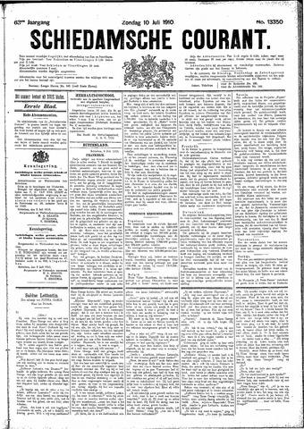 Schiedamsche Courant 1910-07-10