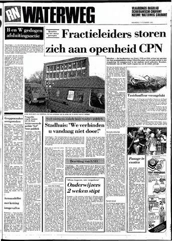 Rotterdamsch Nieuwsblad / Schiedamsche Courant / Rotterdams Dagblad / Waterweg / Algemeen Dagblad 1983-11-07