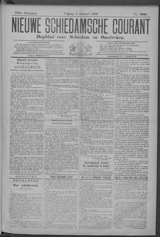 Nieuwe Schiedamsche Courant 1909-01-08