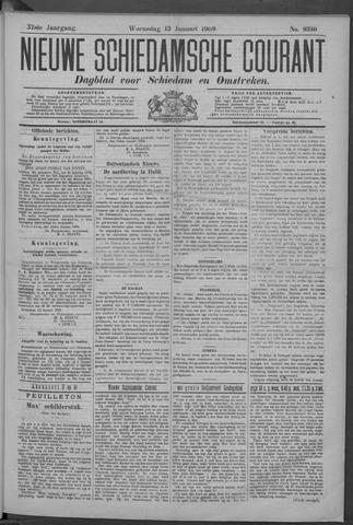 Nieuwe Schiedamsche Courant 1909-01-13