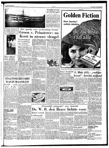 Trouw / De Rotterdammer 1962-09-22