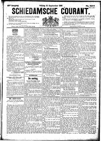 Schiedamsche Courant 1916-09-15