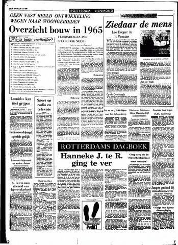 Rotterdamsch Parool / De Schiedammer 1966-05-21