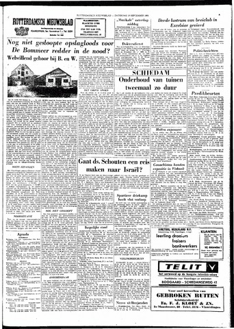 Rotterdamsch Nieuwsblad / Schiedamsche Courant / Rotterdams Dagblad / Waterweg / Algemeen Dagblad 1964-09-19
