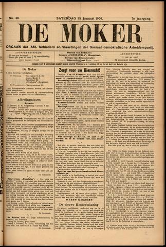 De Moker 1908-01-25