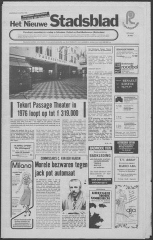 Het Nieuwe Stadsblad 1976-04-14