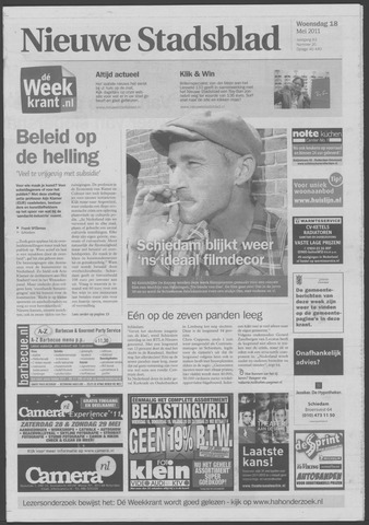 Het Nieuwe Stadsblad 2011-05-18