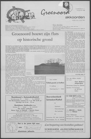 Groenoord Akkoorden 1968-08-08