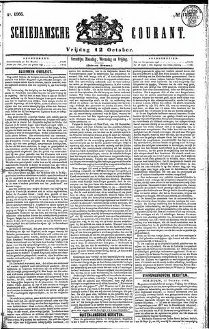 Schiedamsche Courant 1866-10-12
