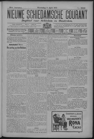 Nieuwe Schiedamsche Courant 1913-04-09