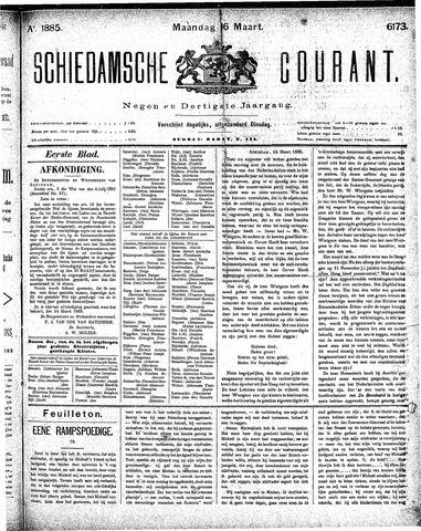Schiedamsche Courant 1885-03-16