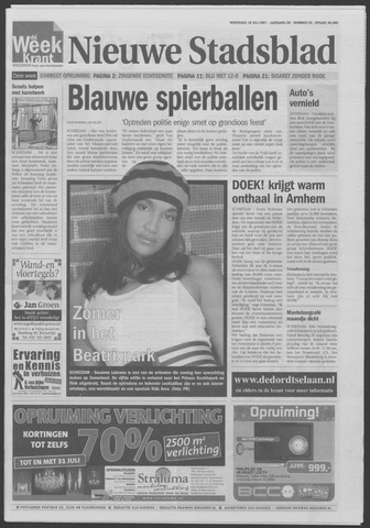 Het Nieuwe Stadsblad 2007-07-18