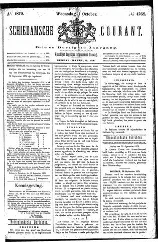 Schiedamsche Courant 1879-10-01