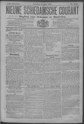 Nieuwe Schiedamsche Courant 1909-04-10