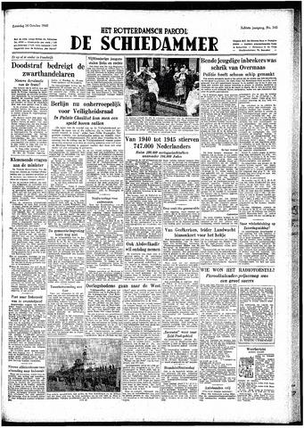 Rotterdamsch Parool / De Schiedammer 1948-10-16