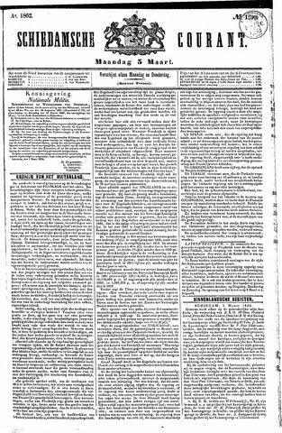 Schiedamsche Courant 1862-03-03