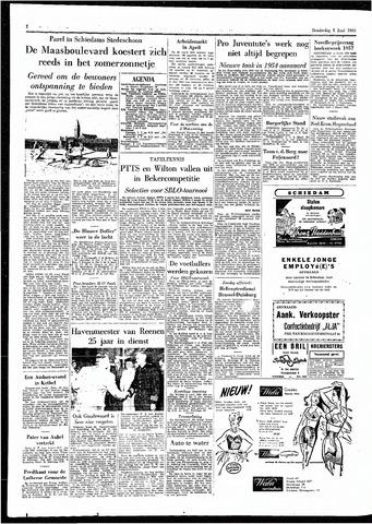Rotterdamsch Parool / De Schiedammer 1955-06-02