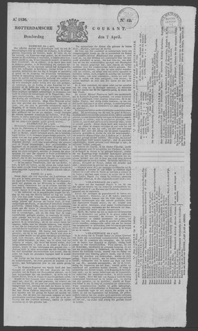 Rotterdamse Courant 1836-04-07