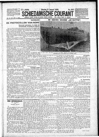 Schiedamsche Courant 1935-01-08