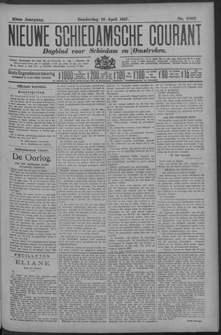 Nieuwe Schiedamsche Courant 1917-04-19