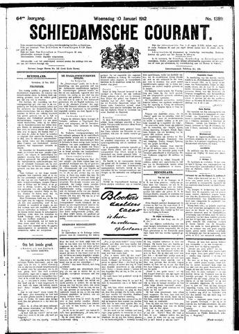 Schiedamsche Courant 1912-01-10