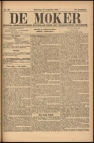 De Moker 1910-08-27