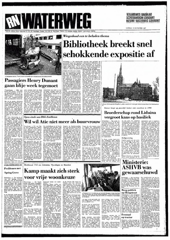 Rotterdamsch Nieuwsblad / Schiedamsche Courant / Rotterdams Dagblad / Waterweg / Algemeen Dagblad 1987-11-10