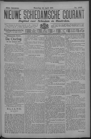 Nieuwe Schiedamsche Courant 1917-04-23