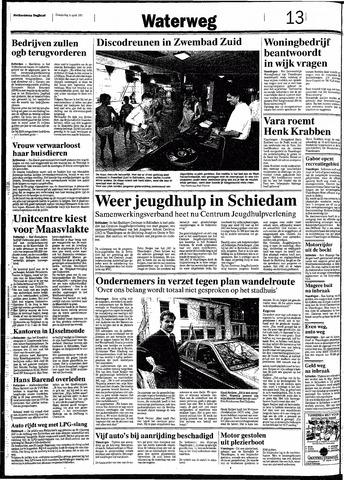 Rotterdamsch Nieuwsblad / Schiedamsche Courant / Rotterdams Dagblad / Waterweg / Algemeen Dagblad 1991-04-04