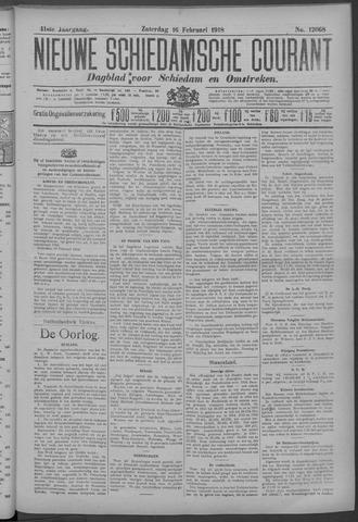 Nieuwe Schiedamsche Courant 1918-02-16