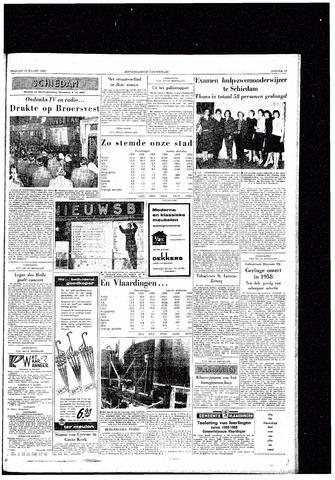 Rotterdamsch Nieuwsblad / Schiedamsche Courant / Rotterdams Dagblad / Waterweg / Algemeen Dagblad 1959-03-13