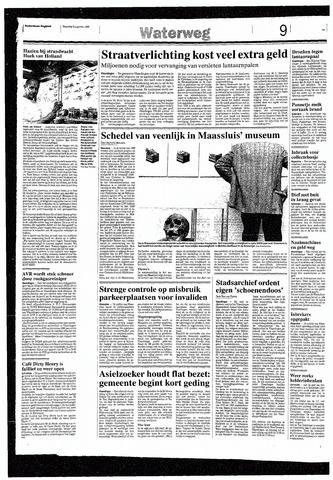 Rotterdamsch Nieuwsblad / Schiedamsche Courant / Rotterdams Dagblad / Waterweg / Algemeen Dagblad 1993-08-09