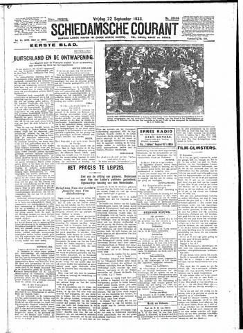 Schiedamsche Courant 1933-09-22