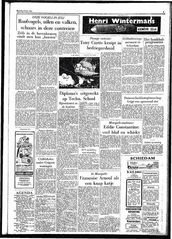 Rotterdamsch Parool / De Schiedammer 1961-07-08