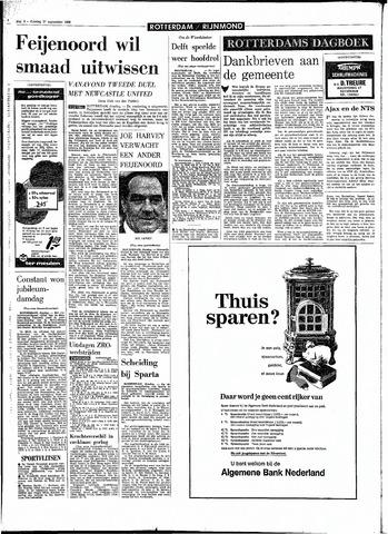 Rotterdamsch Parool / De Schiedammer 1968-09-17