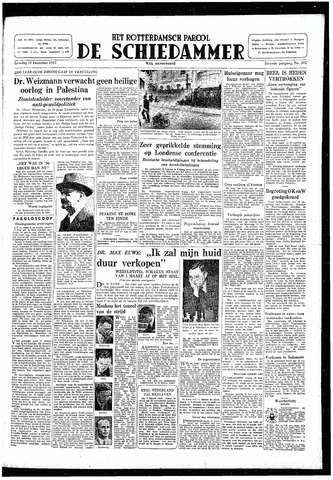 Rotterdamsch Parool / De Schiedammer 1947-12-13