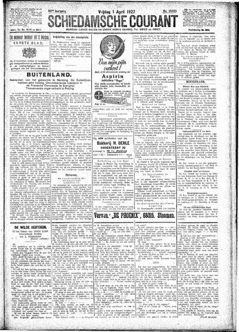 Schiedamsche Courant 1927-04-01
