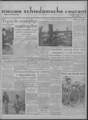 Nieuwe Schiedamsche Courant 1958-09-30