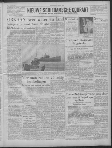Nieuwe Schiedamsche Courant 1949-03-02