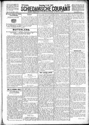 Schiedamsche Courant 1927-07-09
