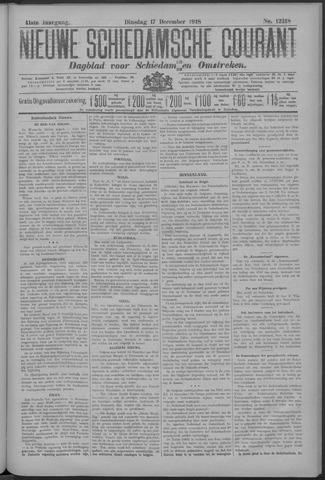 Nieuwe Schiedamsche Courant 1918-12-17