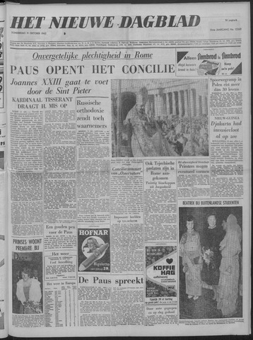 Nieuwe Schiedamsche Courant 1962-10-11